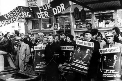 DKP-Demonstration in Kassel
