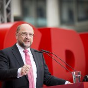Martin Schulz in Hannover