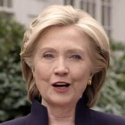 """I'm running for president"", sagt Hillary Clinton in ihrem Kampagnen-Video vom 12. April."