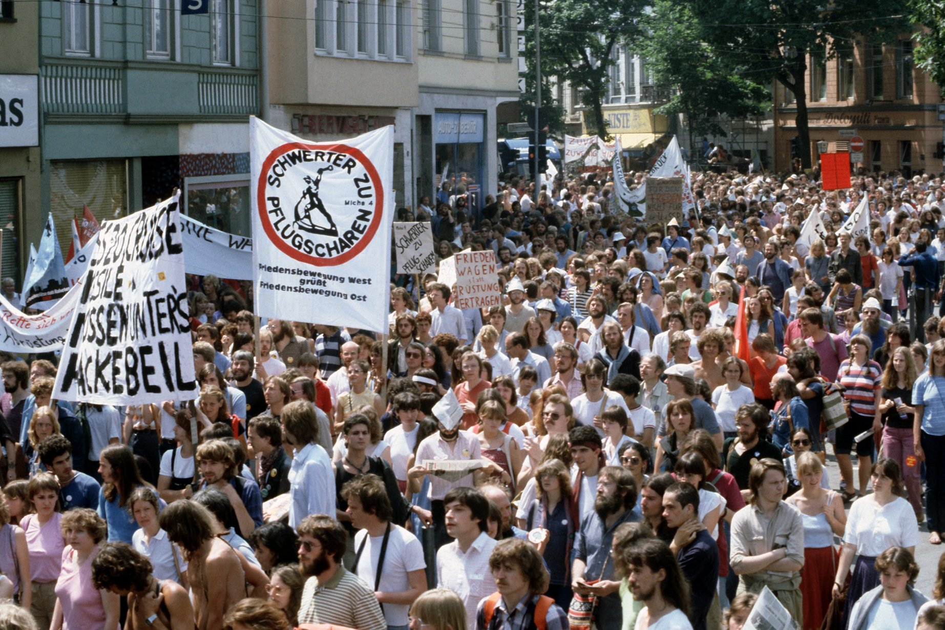 Friedensdemonstration in Bonn